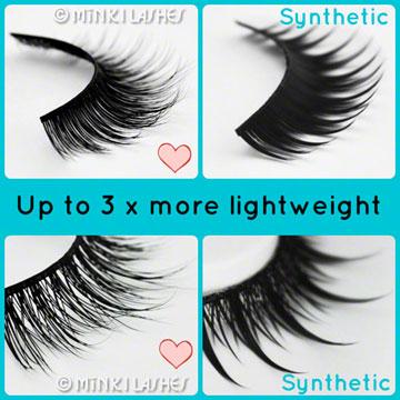 Lightweight False Eyelashes