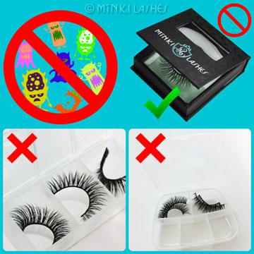 Mink Eyelash Care and Storage