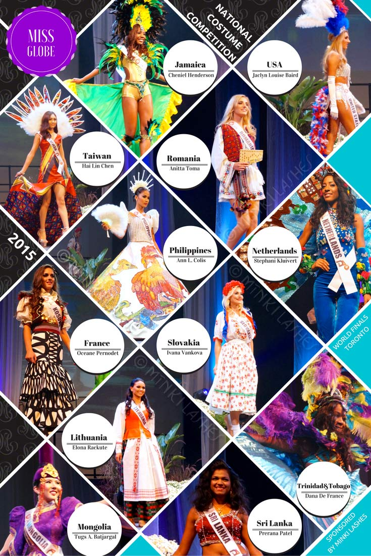 Miss Globe 2015 National Costume Competition
