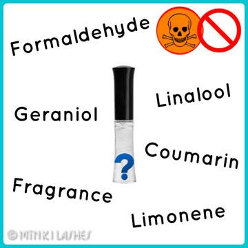 No Toxic Allergenic Eyelash Glue