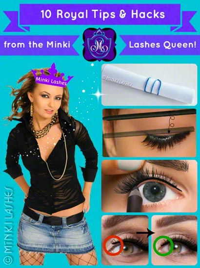 Mink False Lashes Tips and Hacks