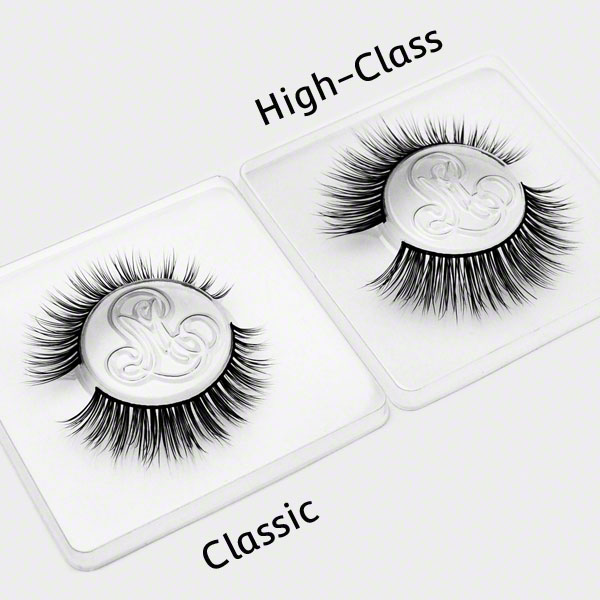 BarelyBaroness Classic vs High Class by Minki Lashes