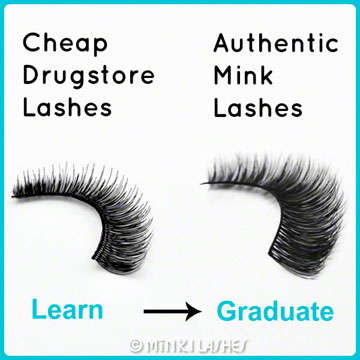 Cheap Drugstore Lashes vs Mink Lashes