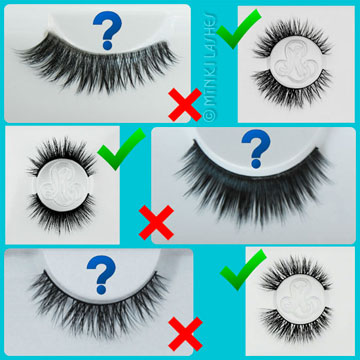 Cheap False Eyelashes vs Mink Lashes