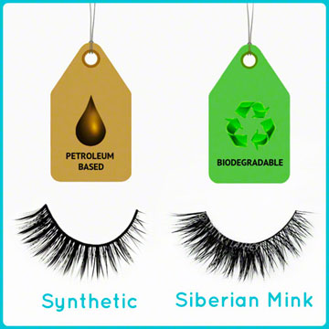 Eco Friendly Siberian Mink Fur