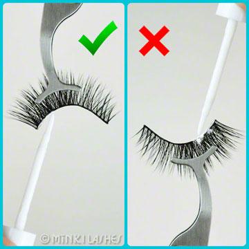 How to Apply Eyelash Glue