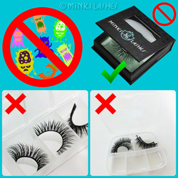 Mink Eyelash Care and Storage