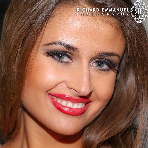 Miss Globe Poland Wearing-BarelyBaroness Classic Minki Lashes