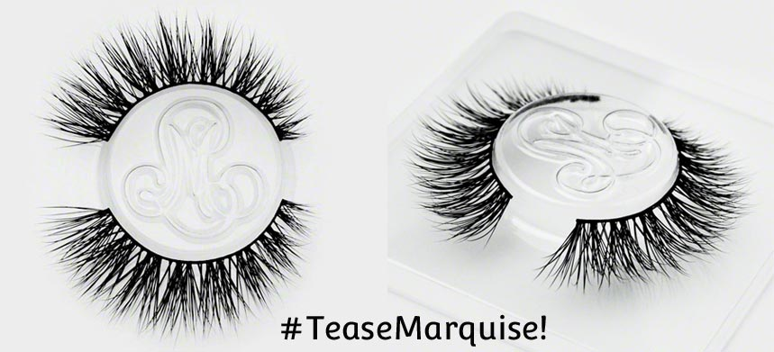 #TeaseMarquise! Cruelty-Free False Lashes